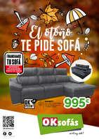 Ofertas de OKSofas, El otoño te pide sofá