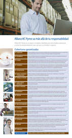 Folleto Allianz RC Pyme