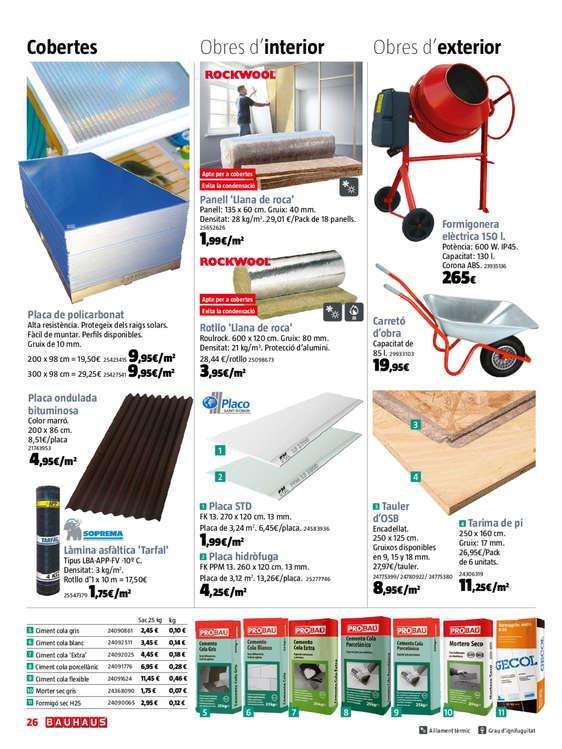Comprar placas de techo barato en tarragona ofertia for Bauhaus tarragona catalogo