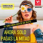 Ofertas de VisionLab, Ya tienes media gafa de sol gratis