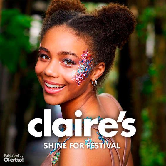 Ofertas de Claire's, Shine for festival