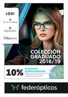 Ofertas de Federopticos, Colección graduado 2018/19