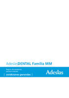 Ofertas de Mutua Madrileña, Adeslas dental familia MM