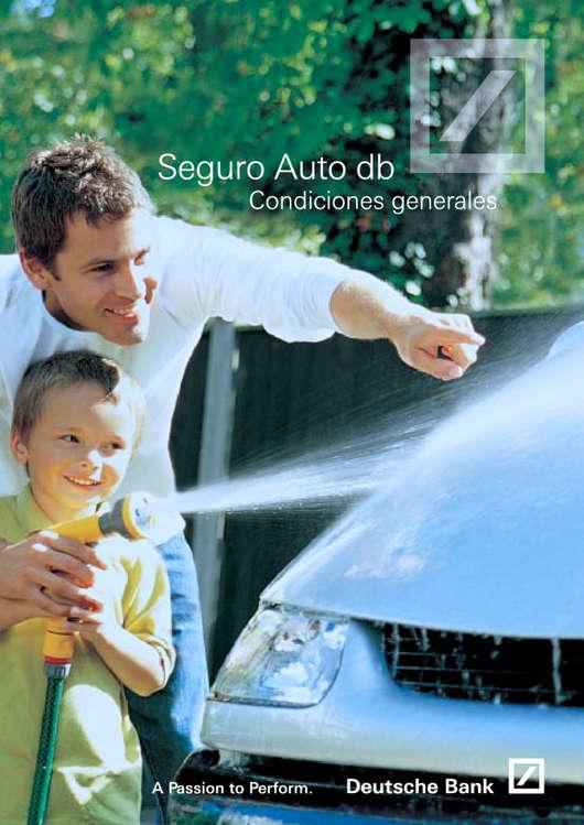 Ofertas de Deutsche Bank, Seguro Auto db