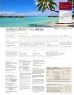Ofertas de Linea Tours, Japón