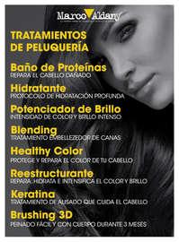 Tratamientos de peluquería