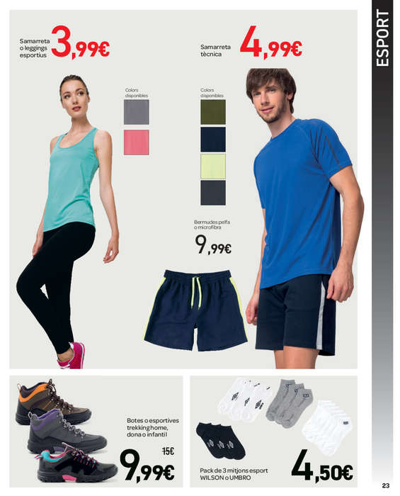 ad23ab297d Comprar Ropa deportiva mujer barato en Santa Susanna - Ofertia