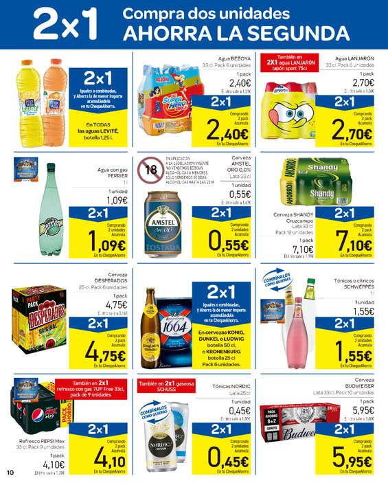 Ofertas de Carrefour, 2x1 Erosi bi ale Aurreztu Bigarrena