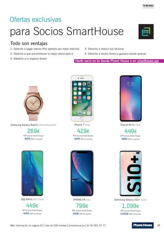 Ofertas de Phone House, Verano 2019