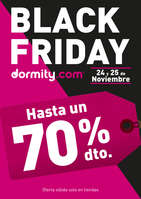 Ofertas de Dormity.com, BLACK FRIDAY