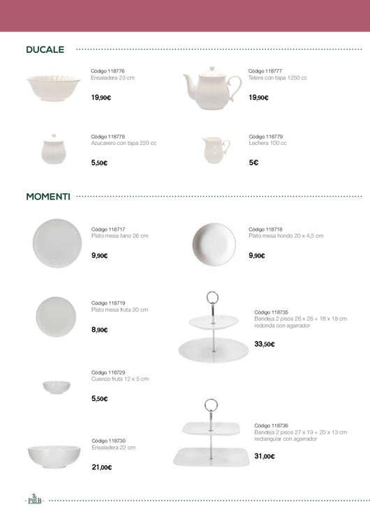 Ofertas de FerrCASH, La porcellana bianca