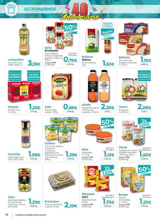 Ofertas de Supermercados Hiber, 40 aniversario