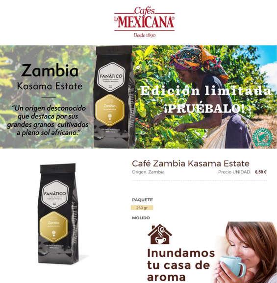 Ofertas de Cafés La Mexicana, Edición limitada