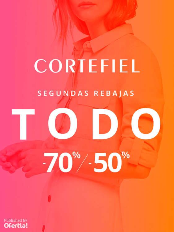 Ofertas de Cortefiel, Segundas rebajas. Todo a -70% y -50%