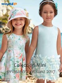 Colección mini primavera verano 2017