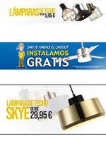 Ofertas de LÚZETE, Sillas y lámparas