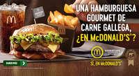 Hamburguesa gourmet de carne gallega