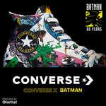 Ofertas de Converse, Converse x Batman