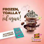 Ofertas de Dunkin Coffee, Frozen, toalla y ¡al agua!