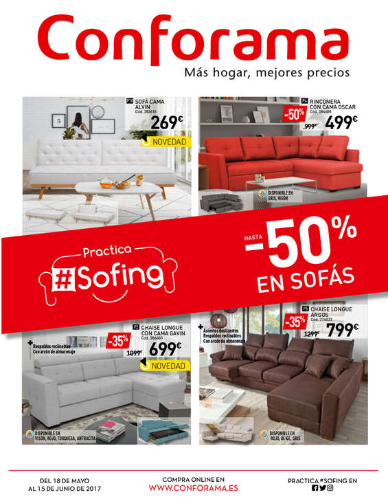 Conforama sevilla ofertas cat logo y folletos ofertia - Catalogo conforama madrid ...