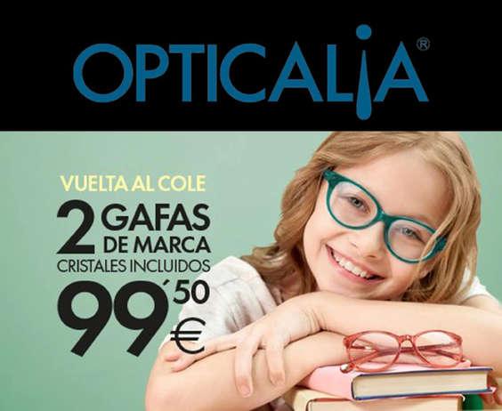Ofertas de Opticalia, Vuelta al cole
