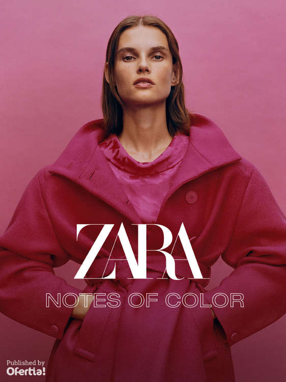 Ofertas de ZARA, Notes of color