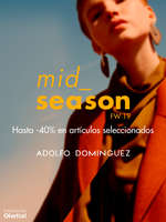Ofertas de Adolfo Domínguez, Mid Season