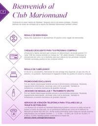 Bienvenido al Club Marionnaud