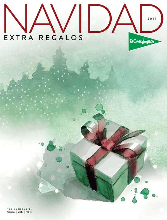 Ofertas de El Corte Inglés, Navidad 2017 Extra Regalos