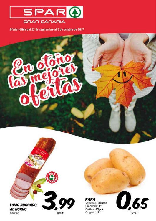 Ofertas de SPAR Gran Canaria, En otoño las mejores ofertas
