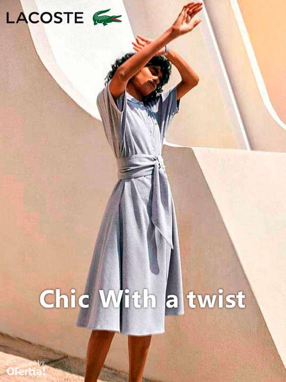 Ofertas de Lacoste, Chic with a twist