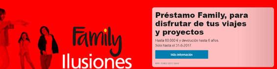 Ofertas de La Caixa, Préstamo Family