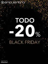 Black Friday. Todo -20%