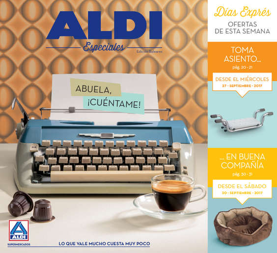 Ofertas de ALDI, Abuela, ¡Cuéntame!