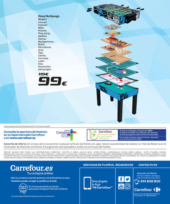 Ofertas de Carrefour, Eres Navideador si disfrutas jugando