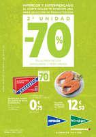 Ofertas de Hipercor, 2ª unidad -70%