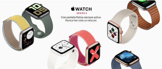 Ofertas de Apple Store, Apple Watch