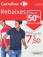 Ofertas de Carrefour, Rebaixes, fins a 50% de descompte