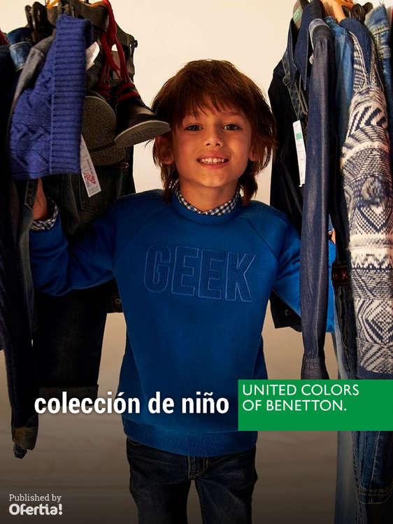 Ofertas de United Colors Of Benetton, Colección Niño