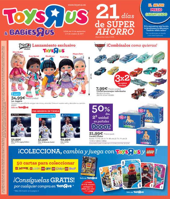 "Ofertas de Toys ""R"" Us, 21 días de súper ahorro"