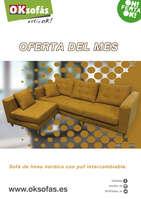 Ofertas de OKSofas, Oferta del mes - Enero