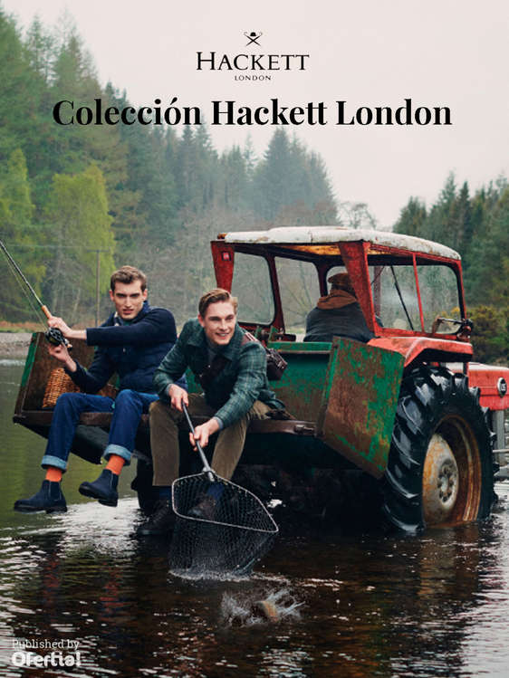 Ofertas de Hackett, Colección Hackett London