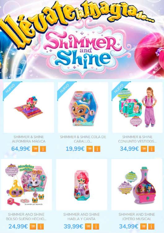 Ofertas de Poly Juguetes, Llévate la magia de Shimmer&Shine