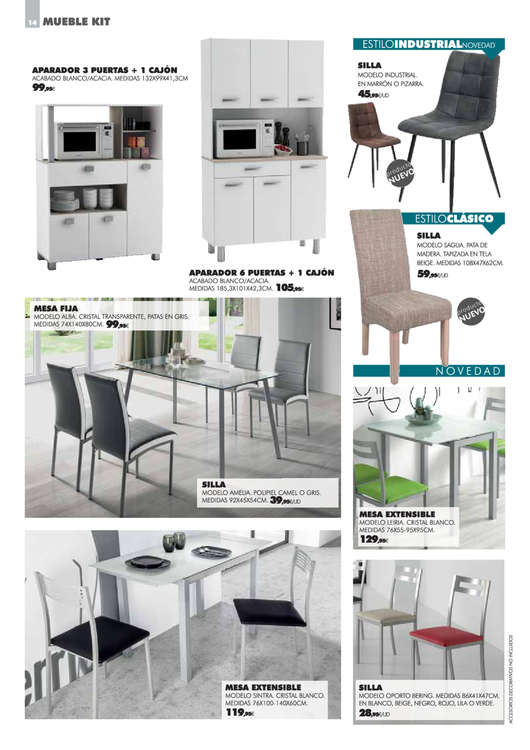 Comprar Muebles de comedor barato en Segovia - Ofertia