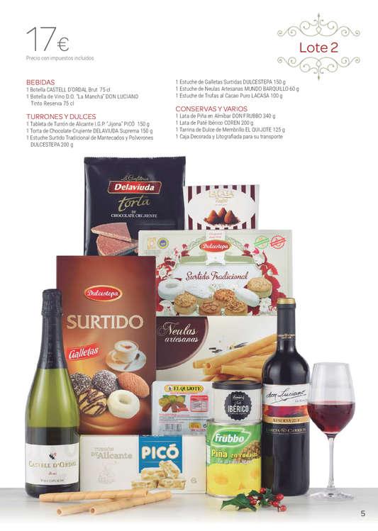 Ofertas de Carrefour, Cestas de Navidad 2019