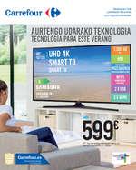 Ofertas de Carrefour, Aurtengo udarako teknologia