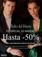 Ofertas de Pedro del Hierro, Es especial, es Navidad. Hasta -50%