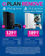 Ofertas de GAME, Plan renove