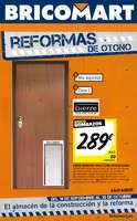 Ofertas de Bricomart, Reformas de otoño - Santander