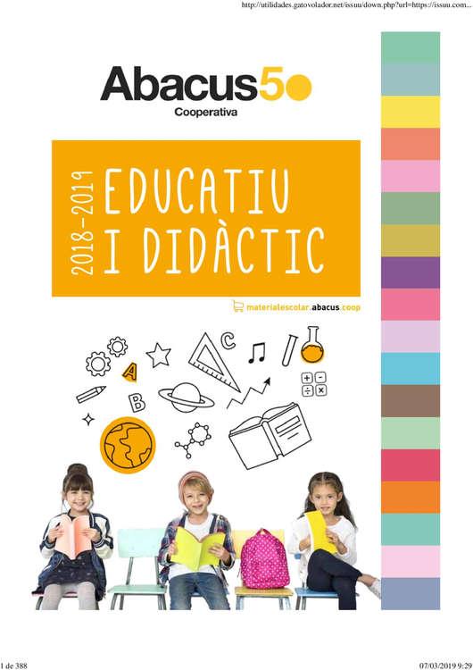 Ofertas de Abacus, Educatiu I Didàctic